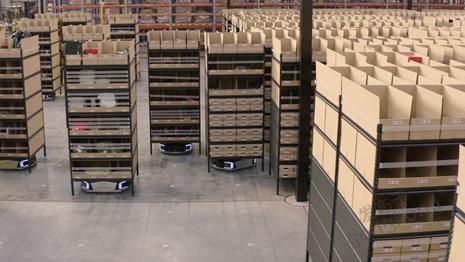 極智嘉攜手3PL巨頭eStore Logistics 打造澳大利亞電商行業最大規模AMR部署
