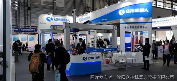 桁架机器人让仓储物流更智能——众拓机器人邀您参观上海CEMAT国际物流展