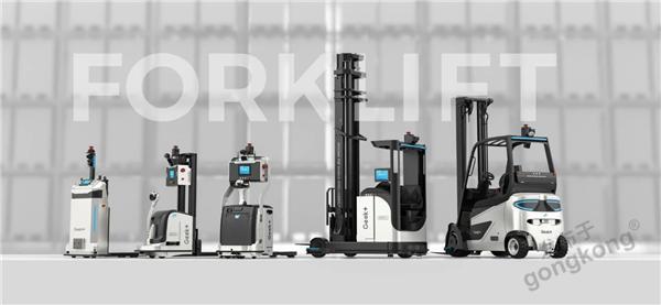 極智嘉全系智能叉車,構建工業物流托盤搬運及存取無人化解決方案