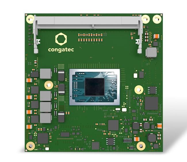 康佳特首款基于AMD 锐龙? 嵌入式 V2000处理器 COM Express Compact模块