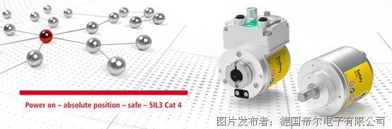 目前最小外径,符合SIL3安全要求应用的绝对值编码器CD_582