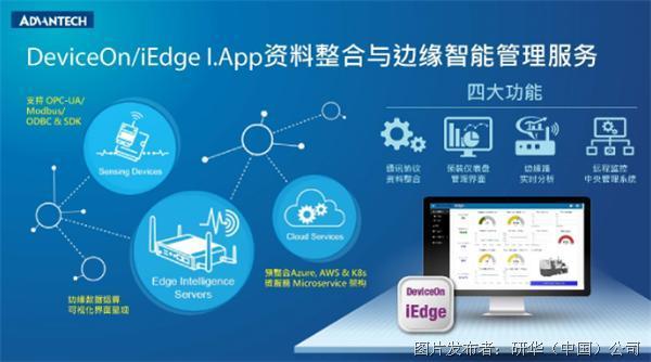 研华推出DeviceOn/iEdge 工业应用程序