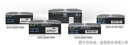 超恩推出ECX-2400/2200 PEG新世代工作站等级AI嵌入式系统