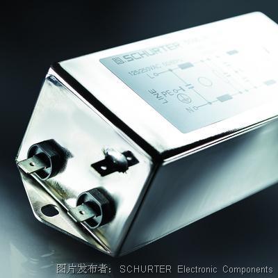SCHURTER:具有卓越宽带衰减性能的超紧凑型单相EMC滤波器