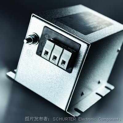 SCHURTER (碩特) FMBC EP三相雙級電源濾波器