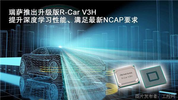 瑞萨电子推出升级版R-Car V3H