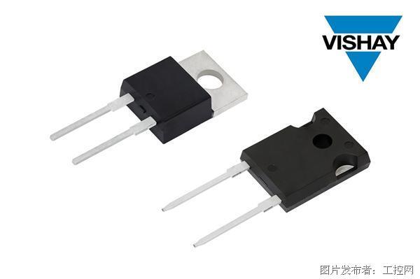 Vishay的新款第五代FRED Pt® 600 V Hyperfast和Ultrafast整流器具有极高的反向恢复性能