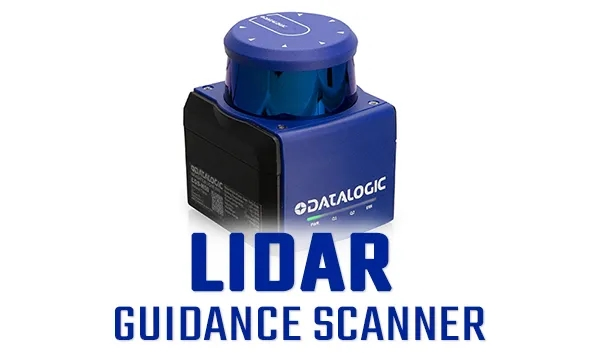 新品发布 | Datalogic得利捷激光雷达导引扫描仪 - 自动导引变得更容易!
