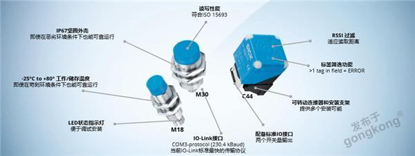 更小更快更??!新一代IO-Link通訊高頻讀寫器 RFH5xx系列 新品介紹