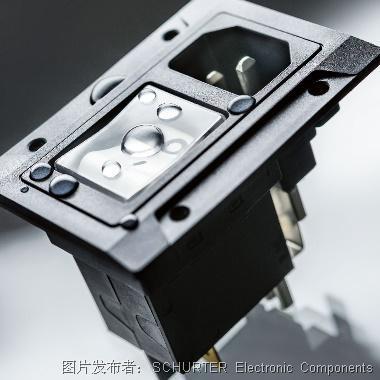 SCHURTER的IP67帶斷路器電源輸入模塊通過中國市場的CCC認證