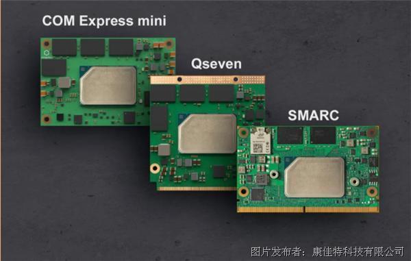 更低功耗 更强性能,康佳特推出五种全新嵌入式模块与单板