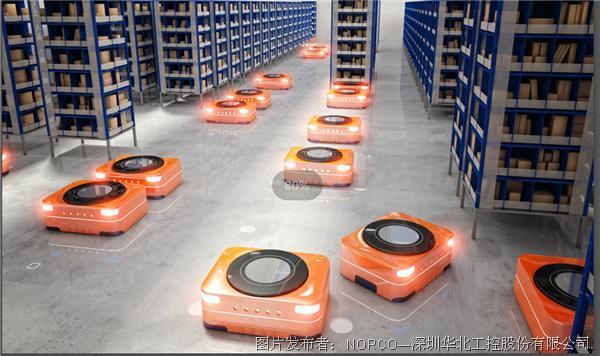 华北兴发首页登录xf187:兴发首页登录xf187机+AGV移动机器人  助力仓储行业灵活运输