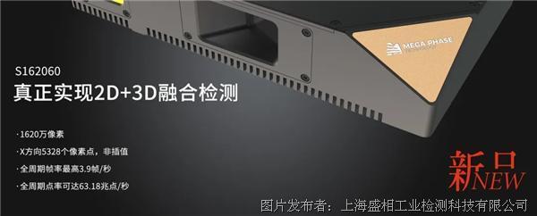 再创新高度:Sizector®S系列1620万像素3D相机正式发售