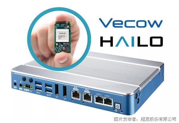 Vecow超恩科技|超恩与Hailo合作推出新世代Edge AI边缘计算解决方案