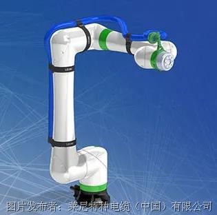 创新研发丨莱尼为 FANUC 新型 CRX 协作机器人开发智能管线包解决方案