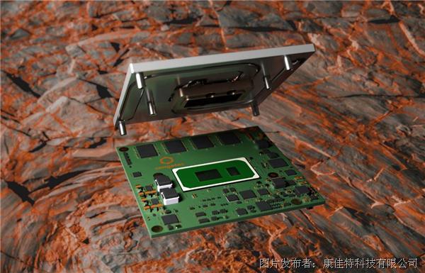 自帶板載內存的超強固型最新第11代英特爾®酷睿®康佳特模塊