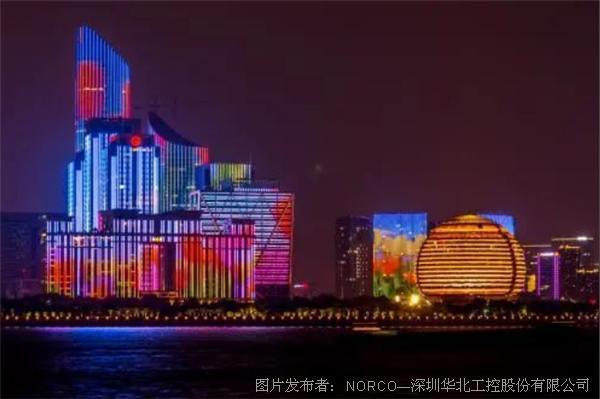 智能燈光控制,華北工控打造樓體亮化系統專用計算機硬件方案