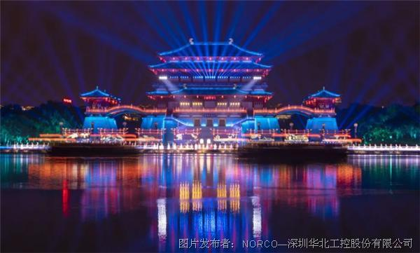 夜游经济崛起浪潮下,华北工控城市灯光工程专用计算机持续升级!