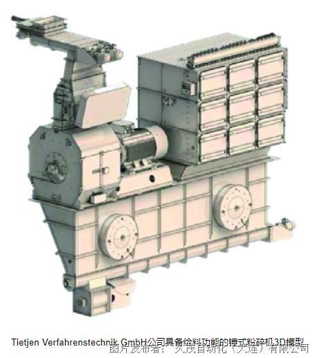 JUMO控制器-用于具备远程维护功能的锤式粉碎机自动转速控制